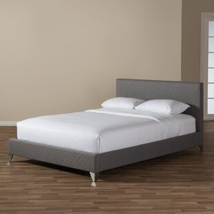Spicer Upholstered Platform Bed by Ebern Designs