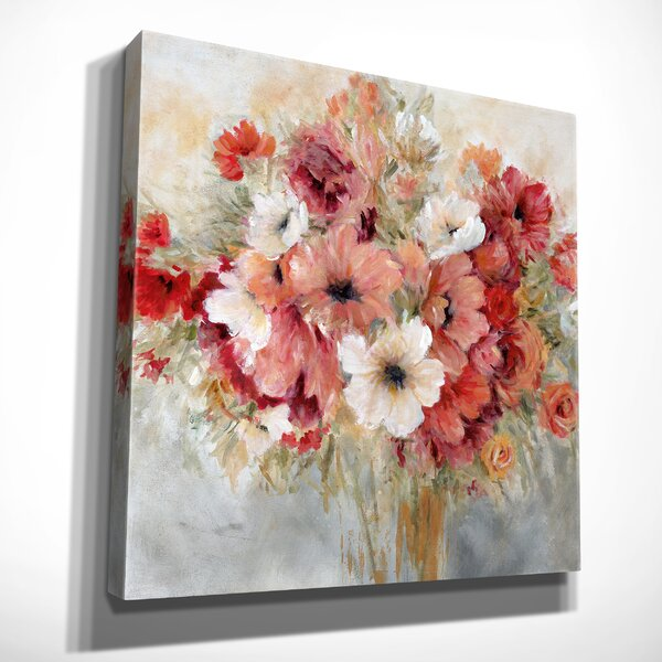 Rosdorf Park Garden S Passion Oil Painting Print On Wrapped Canvas Reviews Wayfair