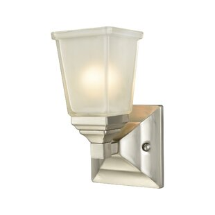 Mandy 1-Light Bath Sconce by Charlton Home