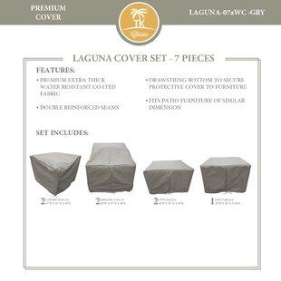 East Village 7 Piece Patio Furniture Cover Set