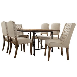 Alpert 7 Piece Dining Set Williston Forge