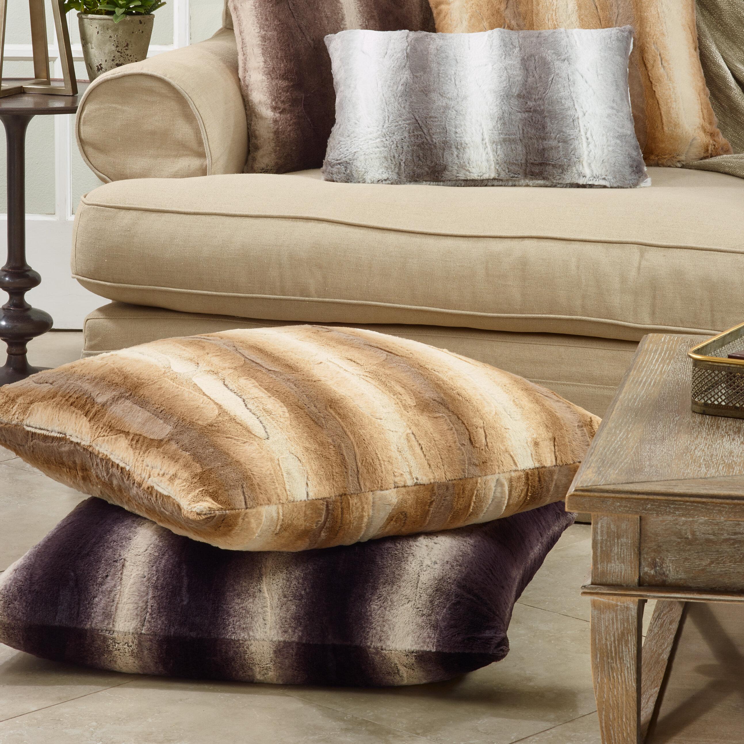 Millwood Pines Margaret Animal Print Decorative Lumbar Pillow Reviews Wayfair