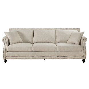 Cadwell 906 Rolled Arm Sofa by Three Posts