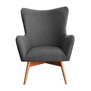 Wesley Wingback Chair By Happy Barok