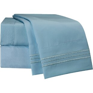 Robin's Egg Microfiber Sheet Set
