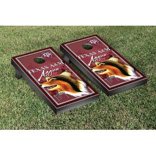 Victory Tailgate NCAA Texas A&M University Aggies Guy Harvey Cornhole Game Set