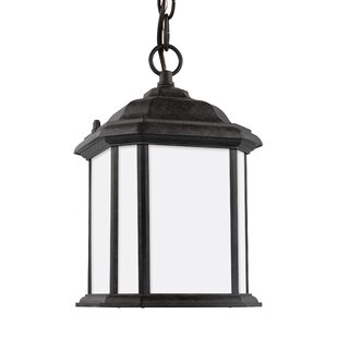 Crandall Outdoor Hanging Lantern by Charlton Home