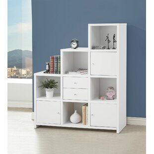 Stas Asymmetrical Reversible Step Bookcase
