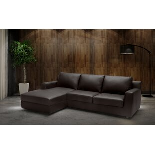 Blandon Leather Sectional ..