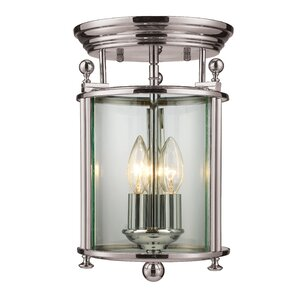 Wyndham 3-Light Semi-Flush Mount