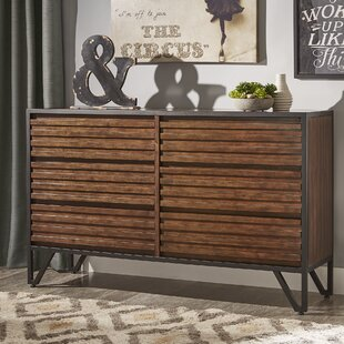 Mercury Row Bourdon Stacked Wood 6 Drawer Do..