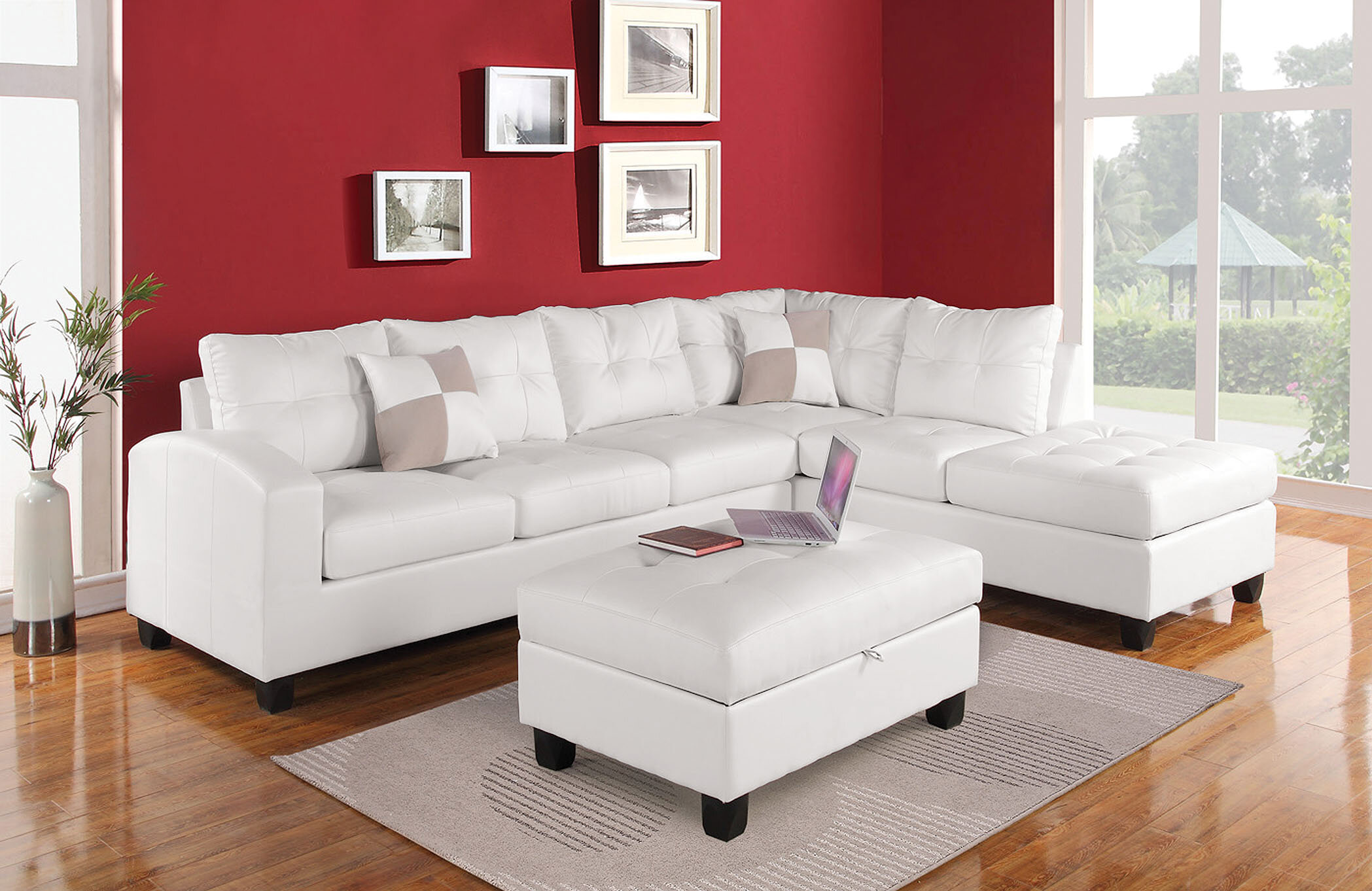 ACME Furniture Kiva Sectional | Wayfair