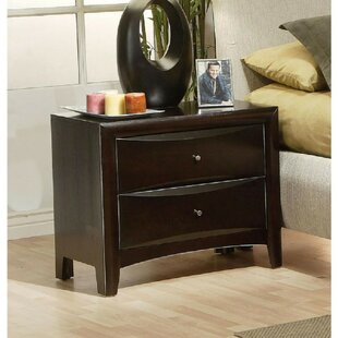 Deeanna 2 Drawer Nightstand