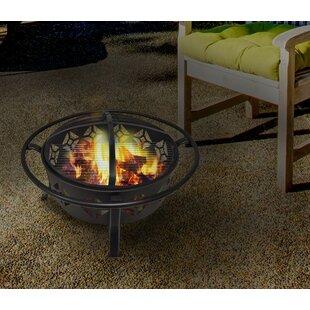 Centurion Brands Diamond Steel Wood Burning Fire Pit