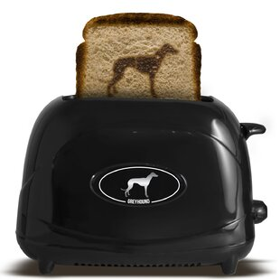 2 Slice Dog Greyhound Toaster