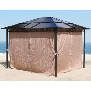 Segura 3 X 3m Plastic Pop-Up Gazebo By Sol 72 Outdoor