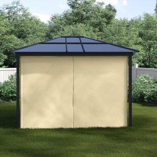 Wagoner 3.6m W X 3m D Gazebo By Sol 72 Outdoor