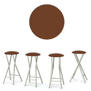 Coffee 30'' Patio Bar Stool (Set of 4)
