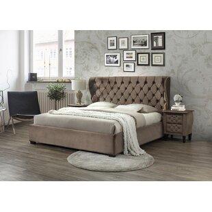 Gisela Upholstered Bed Frame By Rosdorf Park
