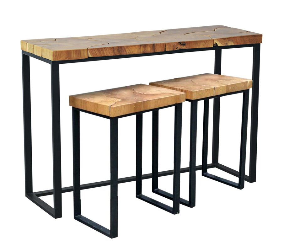Hoekstra Console Table And Stool Set