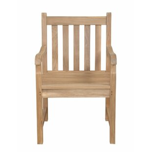 Braxton Teak Patio Dining Chair by Anderson Teak Bargain