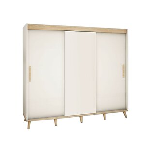 Bridgette 3 Door Sliding Wardrobe By Isabelline