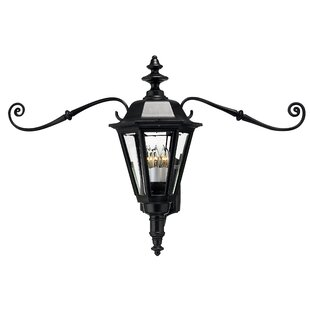 Online Reviews Manor House 4-Ligh Outdoor Wall Lantern By Hinkley Lighting