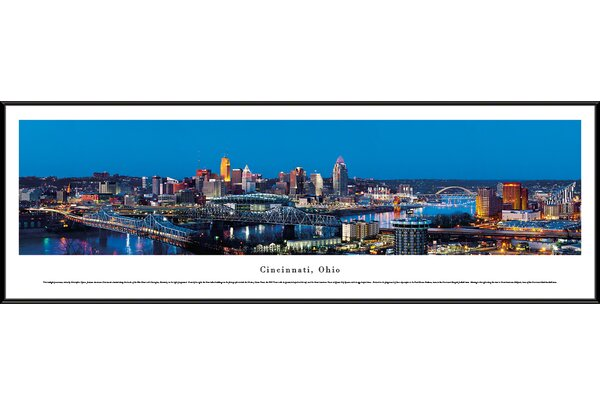 Blakewaypanoramas Us Skyline Cincinnati Ohio By Christopher Gjevre