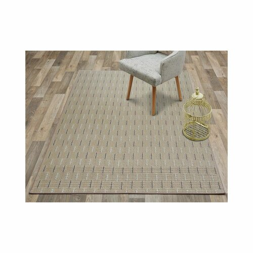 Hallee Tufted Beige Rug Mercury Row Rug Size: Runner 200 x 1