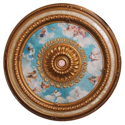 Chandelier Ceiling Medallion Art Frame