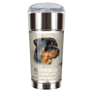 Howard Robinson's Rottweiler 24 oz. Stainless Steel Travel Tumbler