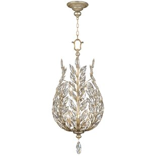Fine Art Lamps Crystal Laurel 6-Light Crystal Chandelier