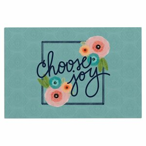 'Choose Joy (Floral)' Doormat