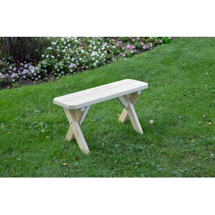 Rodman Wood Picnic Bench by Loon Peak 2019 Coupon