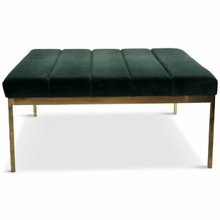ModShop Bordeaux Tufted Cocktail Ottoman
