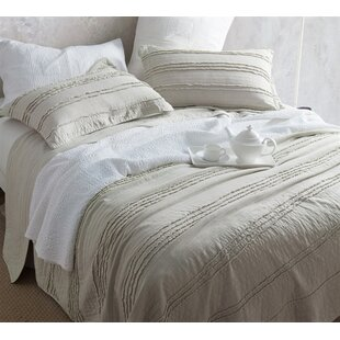 Ophelia & Co. Jermaine Ruffled Stone Washed Quilt