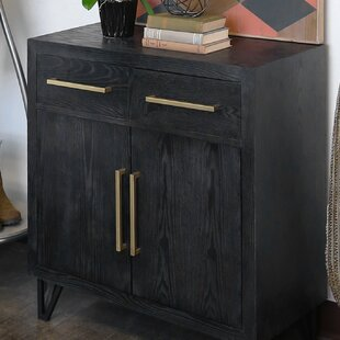Taryn Wood 2 Door Accent Cabinet by Wrought Studio