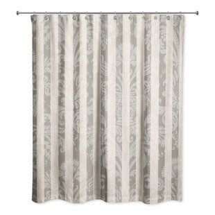 Wilcoxen Floral Shower Curtain ByFleur De Lis Living