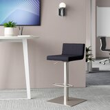 Harlowe Adjustable Height Swivel Bar Stool by Upper Square™
