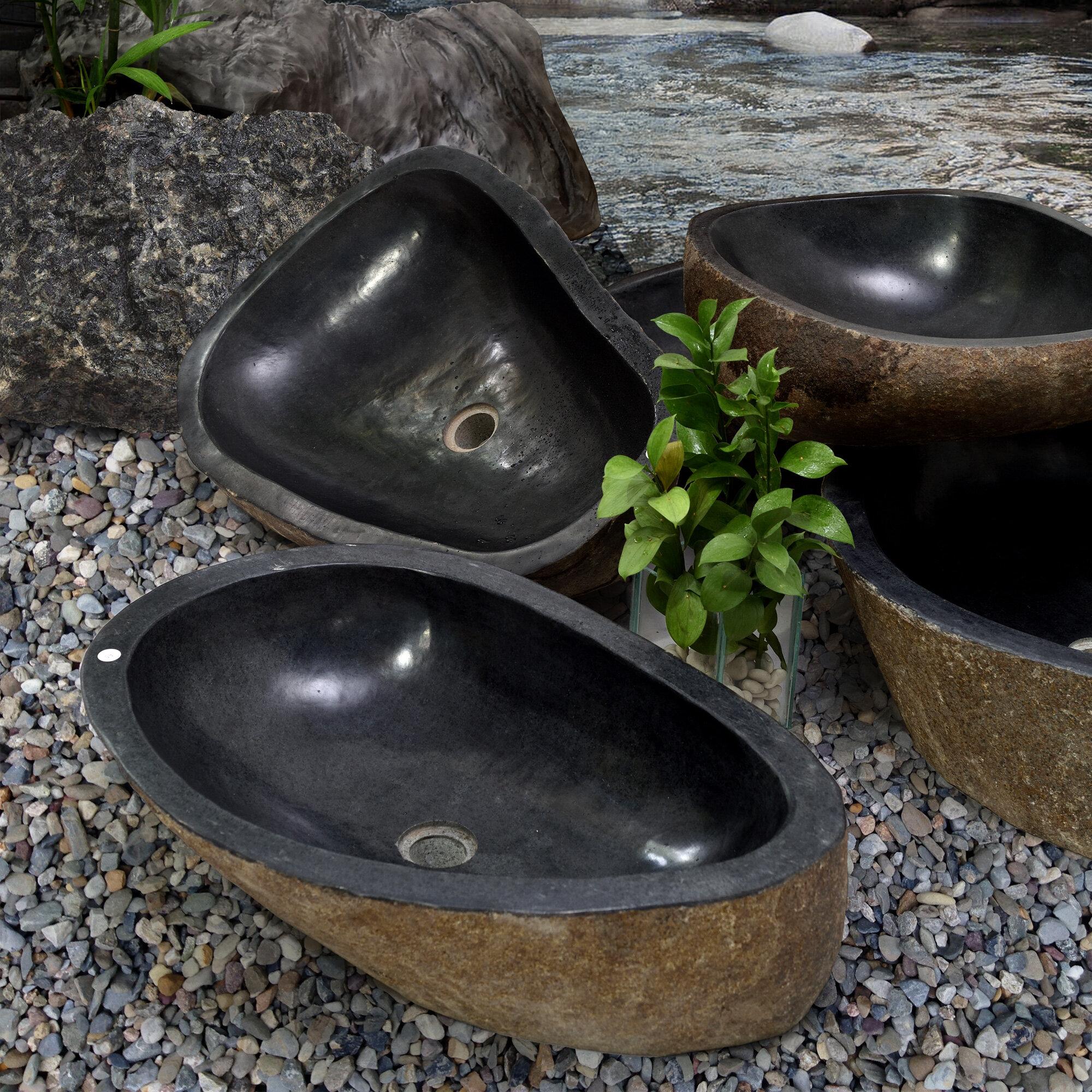 Casual Elements Specialty Vessel Bathroom Sink Stone Specialty Vessel Bathroom Sink Reviews Wayfair