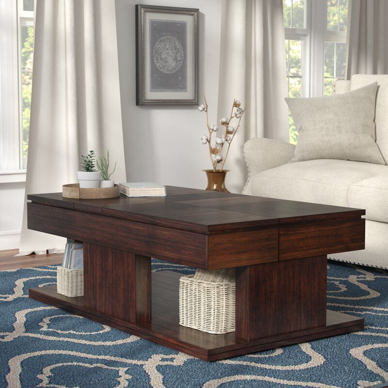 Marvelous Janene Double Lift Top Coffee Table