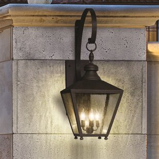 Darby Home Co Sybil 3-Light Outdoor Wall Lantern