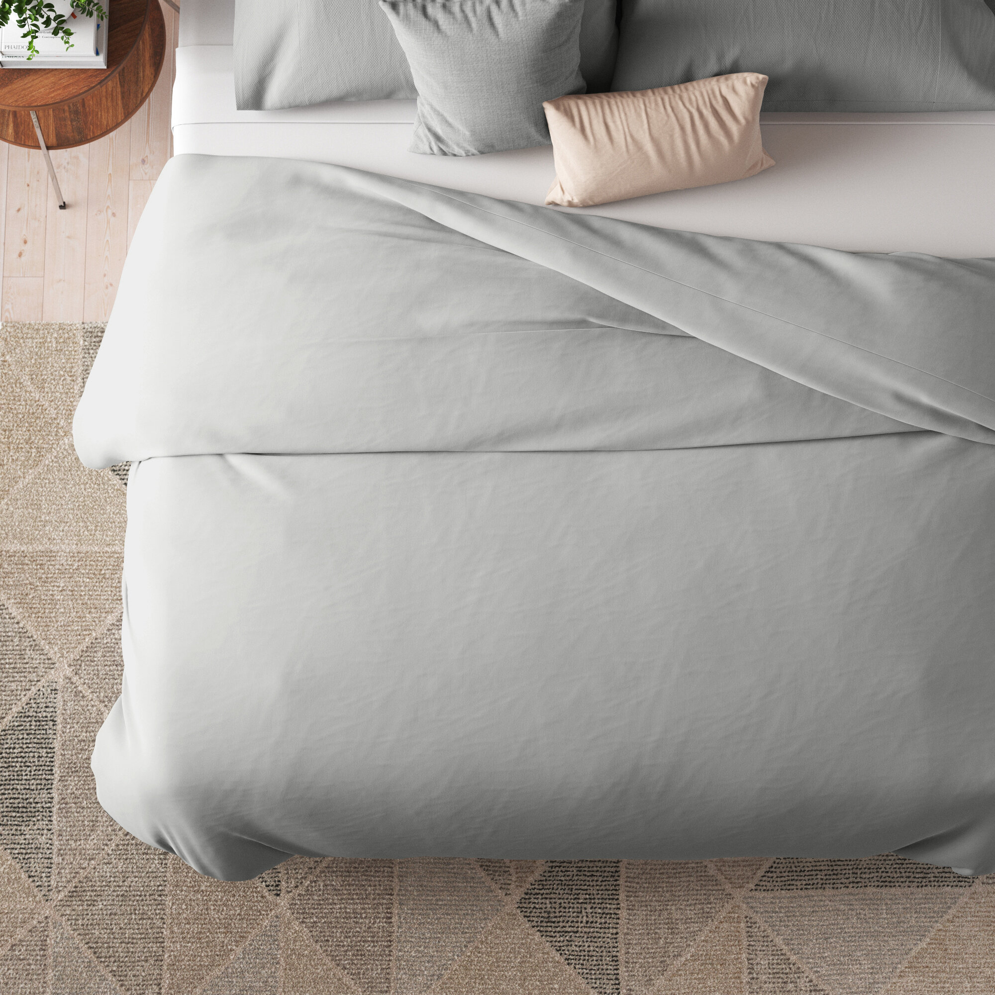 Loganville Single Reversible Duvet Cover Reviews Allmodern