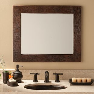Sedona Rectangle Bathroom Mirror By Native Trails, Inc.