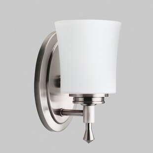 Ehlers 1-Light Bath Sconce by Charlton Home