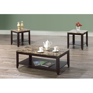 Metz 3 Piece Coffee Table Set