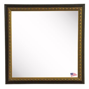 Square Traditional Cameo Wall Mirror By Astoria Grand