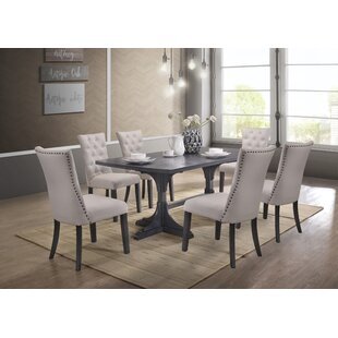 7 Piece Grey Kitchen & Dining Room Sets You\'ll Love | Wayfair