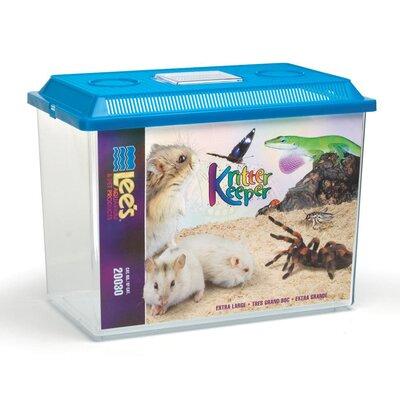 "Kritter Keeper Pet Home Lees Aquarium & Pet Size: X-Large (12.5"" H x 9.38"" W x 15.75"" D)"