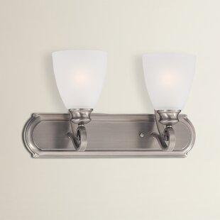 Elinor 2-Light Vanity Light by Fleur De Lis Living
